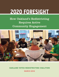Oakland Votes Redistricting Commission